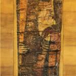 """Pieta"" 120x45 cm / mal. Edward Duda"