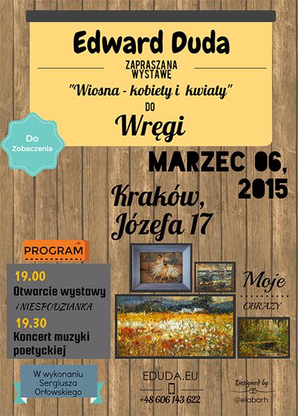 """Wystawa """"Wiosna – kobiety i kwiaty"""""""