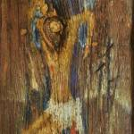"""Pieta"" 74x31 cm / ma.l Edward Duda"