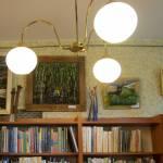 Wernisaż w bibliotece na Kozłówce / fot. EĆ