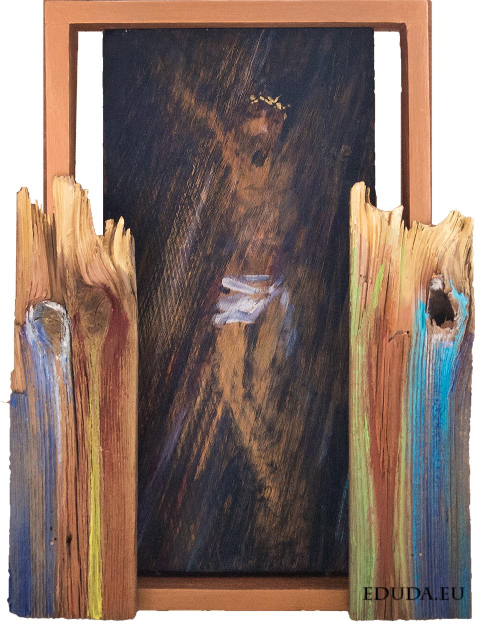 Kapliczusia II 51x38 cm / mal. Edward Duda