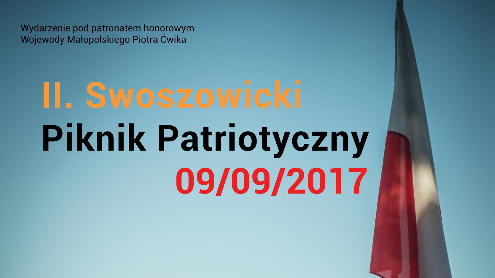 II. Swoszowicki Piknik Patriotyczny 09 IX 2017