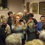 Wernisaż prac Edwarda Dudy w CKP Klub Wróblowice - 10.03.2018