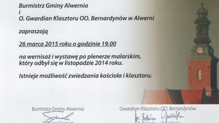 Wystawa w Alwerni